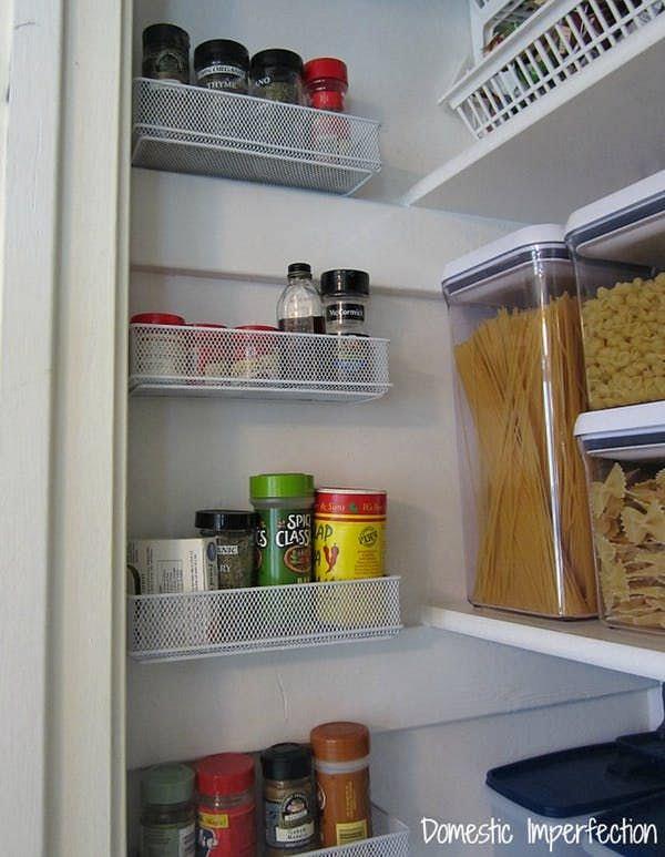 37 easy diy spice storage ideas - citchen