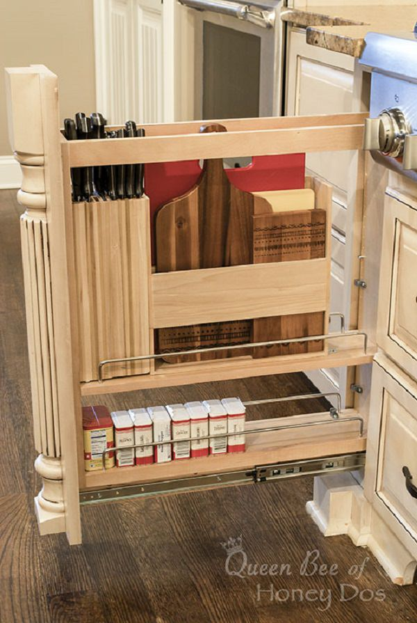 Amazing And Unique Hidden Kitchen Storage Ideas Citchen