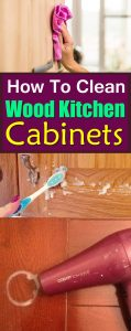 These DIYs and Ideas will help help your get rid of kitchen cabinets stains and will help you keep it clean!